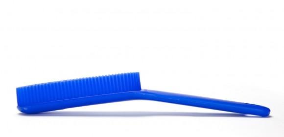 Vivian Silicone Electrosilk Brush – Blue